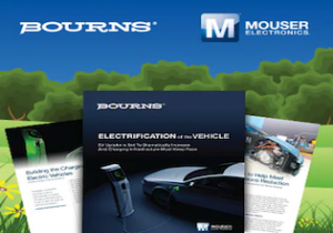 Mouser Electronics and Bourns Present New eBook on Electric Vehicles Charging Infrastructure