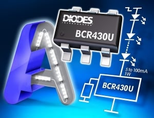 Ultra-Low Dropout Linear LED Driver from Diodes Incorporated Extends Lighting Strips