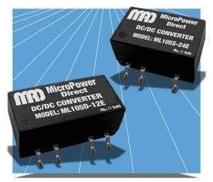 Ultra-Miniature, 1W, 1 & 2 Output SMT Converters