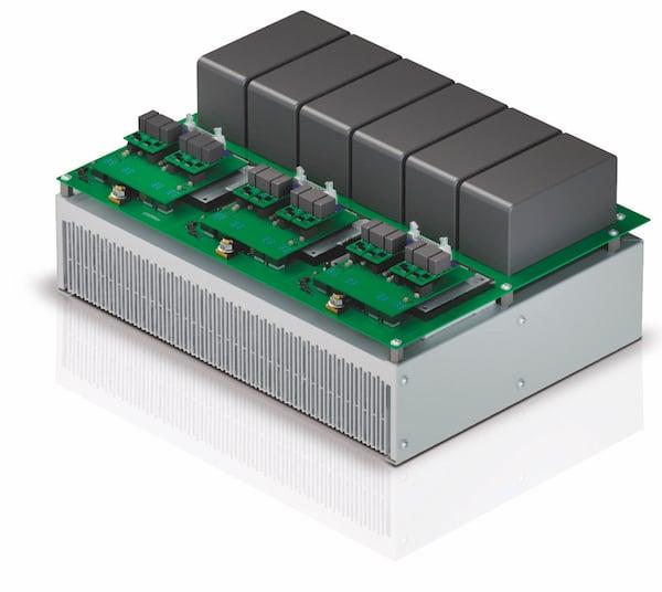 3-phase solar inverter application sample for 1500V and 99.3% efficiency