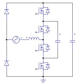 Usage of multilevel technology in totem-pole power factor correction