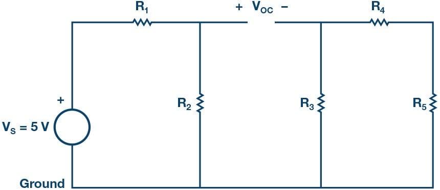 Measuring the Thévenin Voltage.