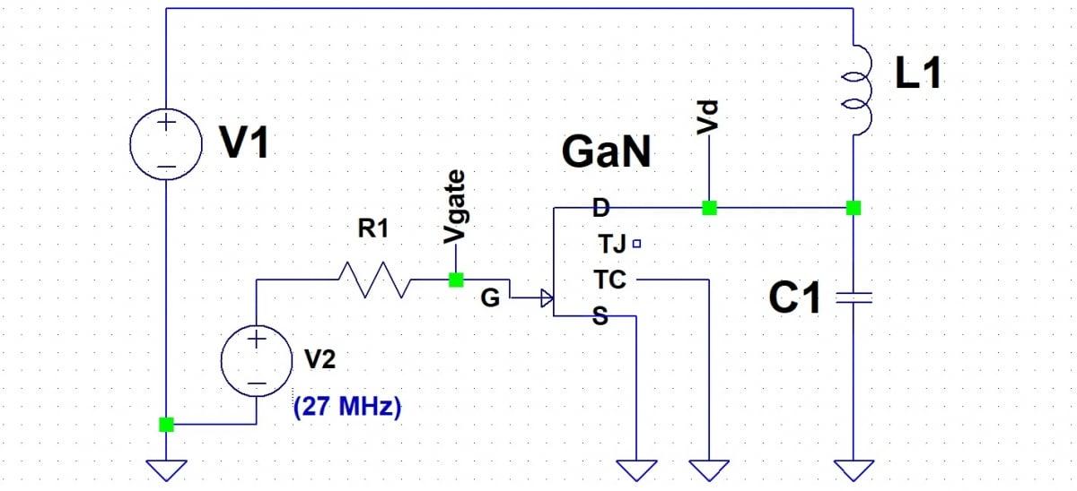 Basic Resonant Flyback Circuit