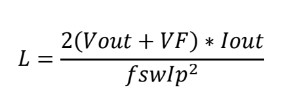 energy equation for a Flyback transformer