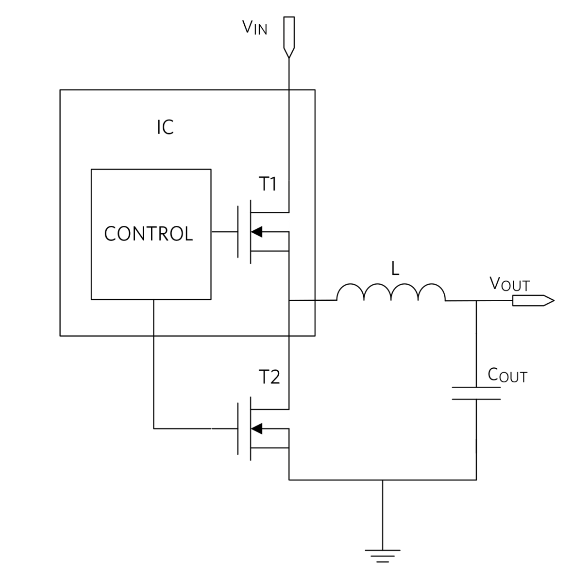 Simplified Synchronous Buck Architecture