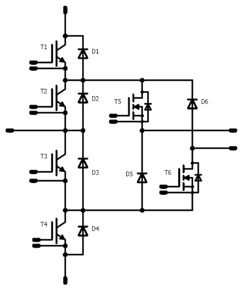 Figure 6: ANPC with split output