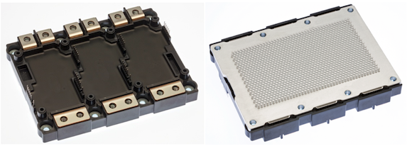 Figure 1: J1 series power module in high power package