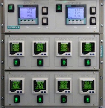 Figure 2: Mixed AC/DC-power monitoring system