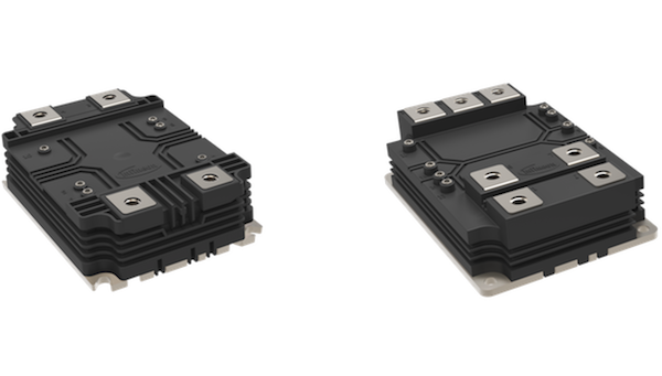 Figure 3: A step forward in flexibility: Infineon's high-power platform for higher power density and efficiency – XHP™ 3 (left) and XHP™ 2 (right)