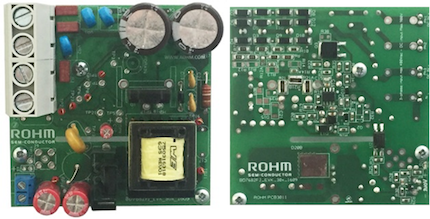 Figure 4: Evaluation board for SiC based auxiliary power supply unit