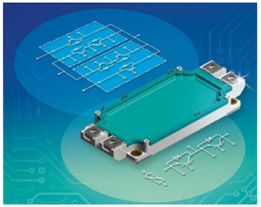 Fig1 - The SimBus F is one of many innovative packaging solu-tions currently offered by IXYS