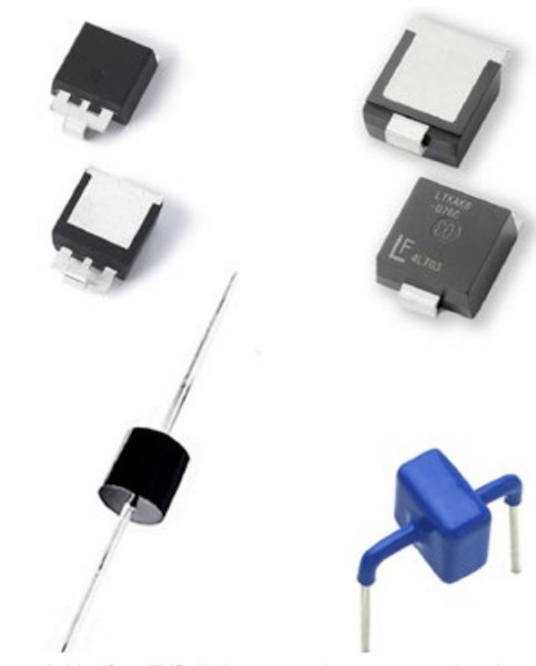 Fig2 - Littelfuse TVS diodes are used to protect semiconduc-tor components from high-voltage transients