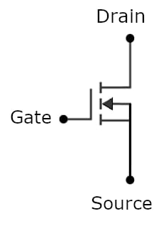 Traditional transistor without trimming capability