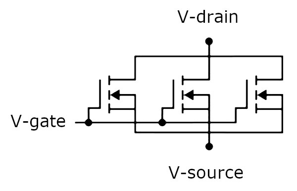 Parallel circuit configuration