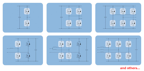 Circuit topologies suitable for A-SRB