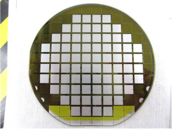Wafer of 6500V SiC-MOSFET with embedded SBD