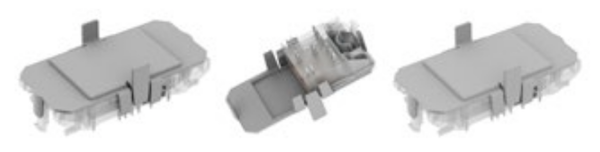 Vincotech TIM protective cap for flow modules