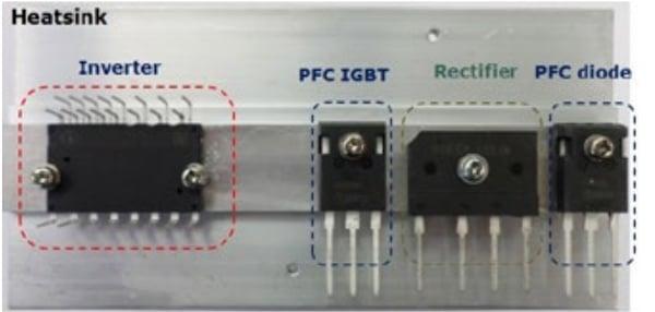 Discrete PFC and inverter IPM solution