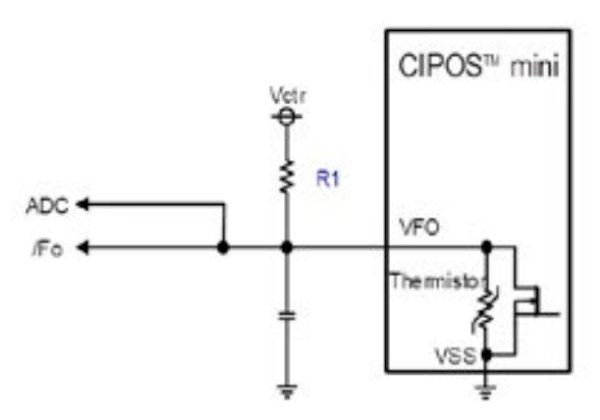 Circuit for over temperature protection