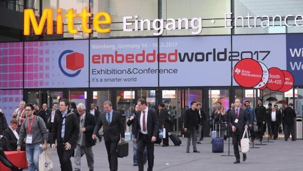 Entrance to embedded world Conference 2017