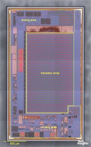 Figure 3: Navitas NV6L002 R01 Low Side Die