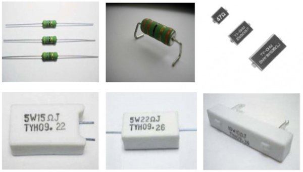 Ty-Ohm's range of Wirewound Resistors: Axial, Radial, SMD, Cement - all available with or without integrated thermal protection