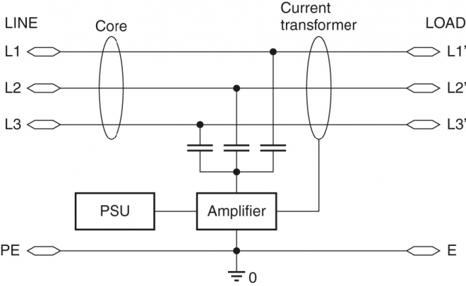 Circuit diagram of EPCOS LeaXield