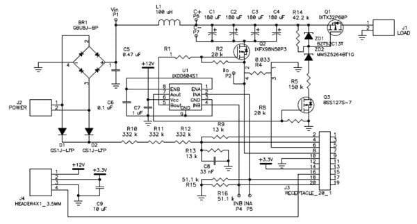 Detail schematic diagrams Main Power Board