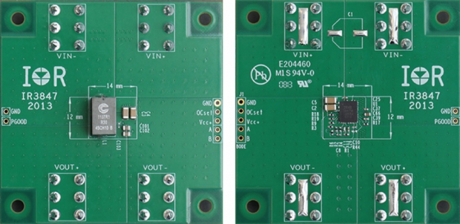 Reference Board SupIRBuck 25 A solution