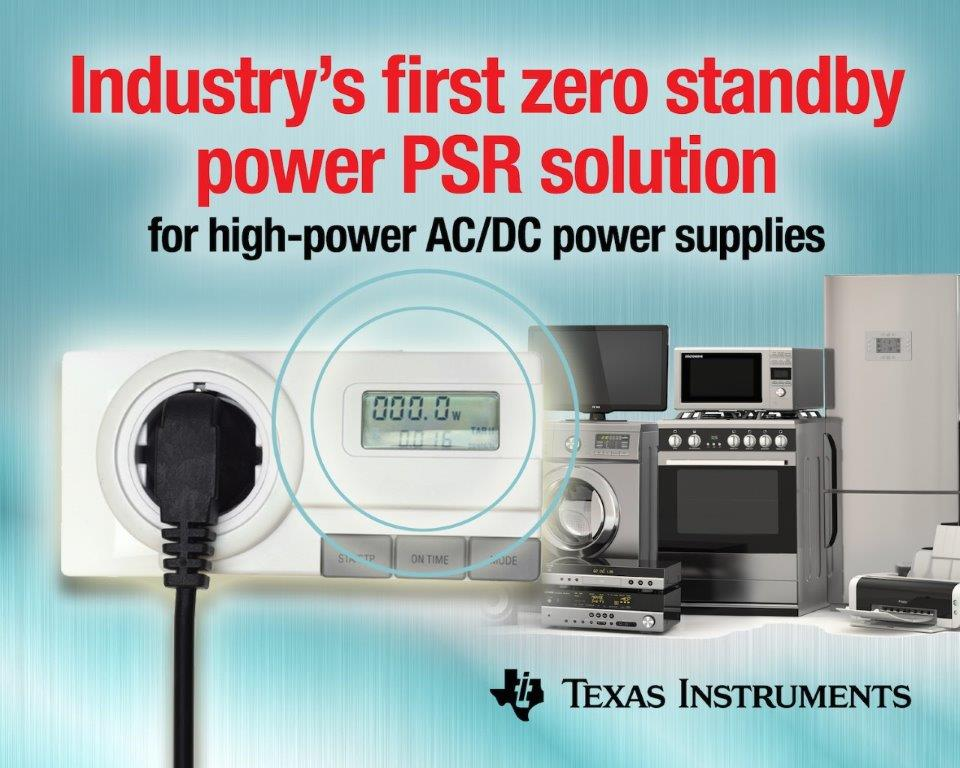 Industry's first zero standby power PSR solution