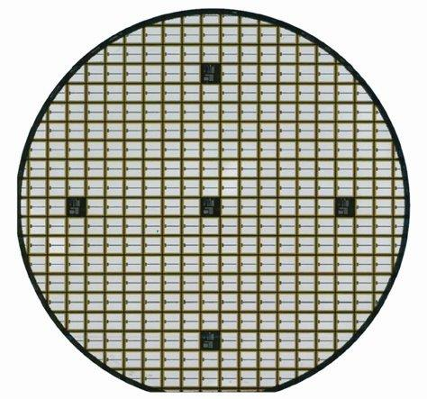 SiC-device wafer from ROHM Semiconductor