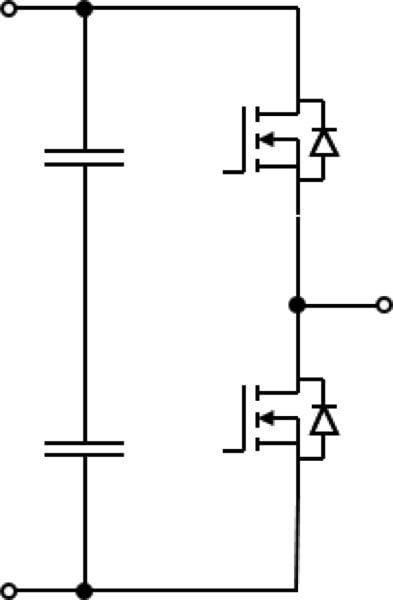 two-level (B6, Six-Pack) inverter