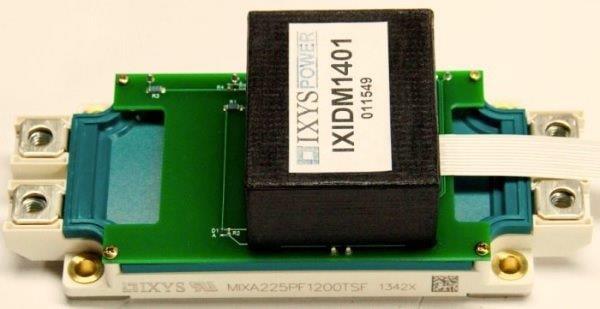 IXIDM1401/ MIXA225PF1200TSF Modules Assembly