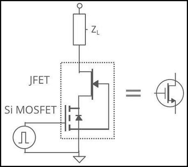 SiC Cascode configuration
