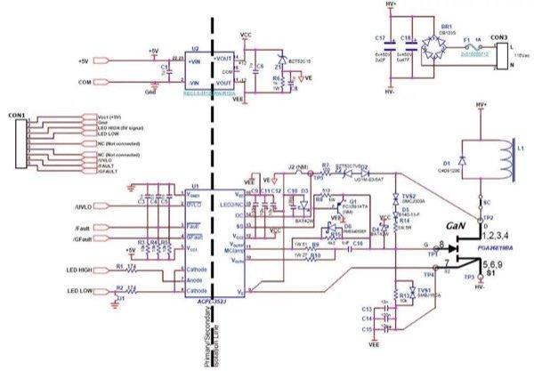Chopper board schematic