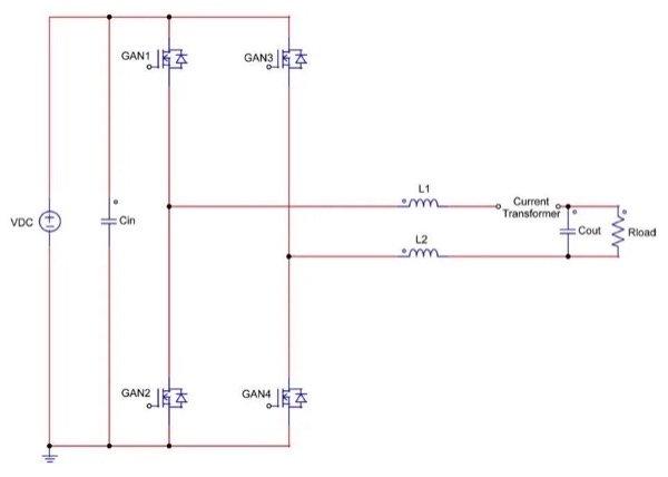 Full Bridge Inverter with GaN