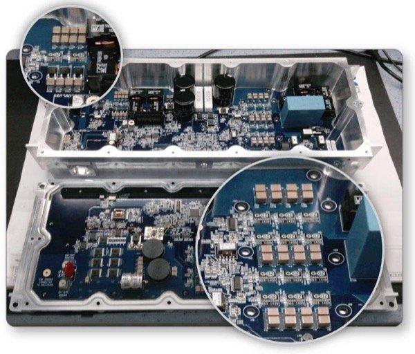 2kVI Vehicle Inverter Using GaN Switches in a Full-Bridge Configuration