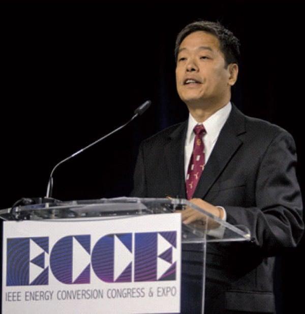 General Chairman John Shen, opens the 8th annual ECCE