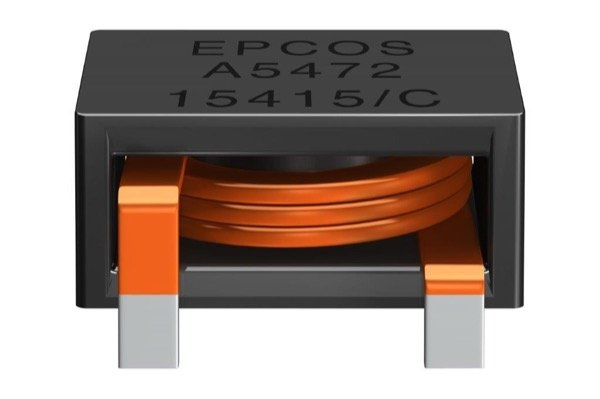 The compact EPCOS power inductors for buck-boost converters are available with current capabilities of up to 75 A. (bottom)