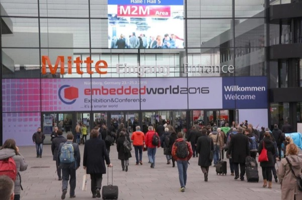 Embedded World 2016 Entrance Area