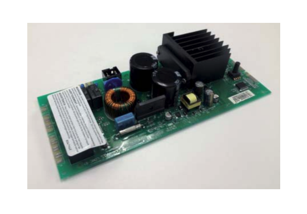 Figure 4: Appliance control board upgraded to 850W using SiP IRAM Gen2 IPM