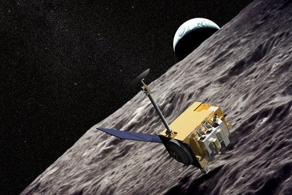 Satellite on Space