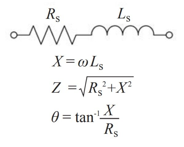 Equivalent circuit for a reactor