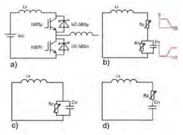 Equivalent circuit diagrams