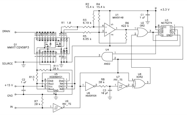 Positive Current Cycle-by-Cycle Overcurrent Monitoring System
