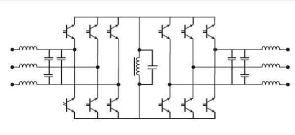 BTRAN Based PPSA 3 phase to 3 phase converter