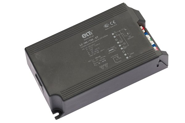 The LED driver LC-XT has a power factor of > 0.96
