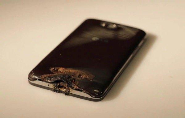 Damaged Smartphone