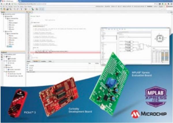 Screenshot of MPLAB Xpress