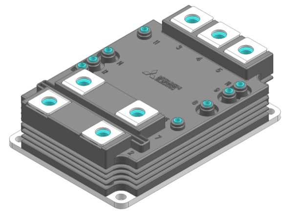 The housing of LV100 power module